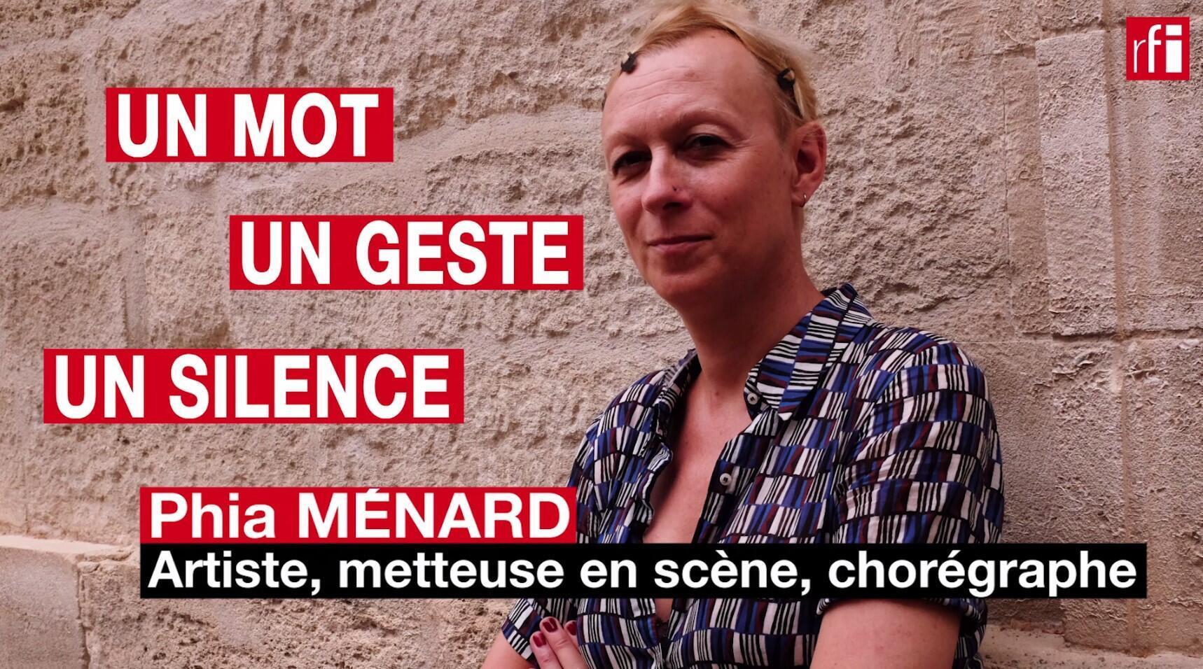 Phia Ménard, une grande artiste qui n'a pas peur de sauter dans le vide. © Siegfried Forster / RFI