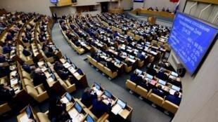 Лидеры всех фракций внесли в Государственную думу РФ законопроект об ответных мерах на недружественную политику США в пятницу, 13 апреля.