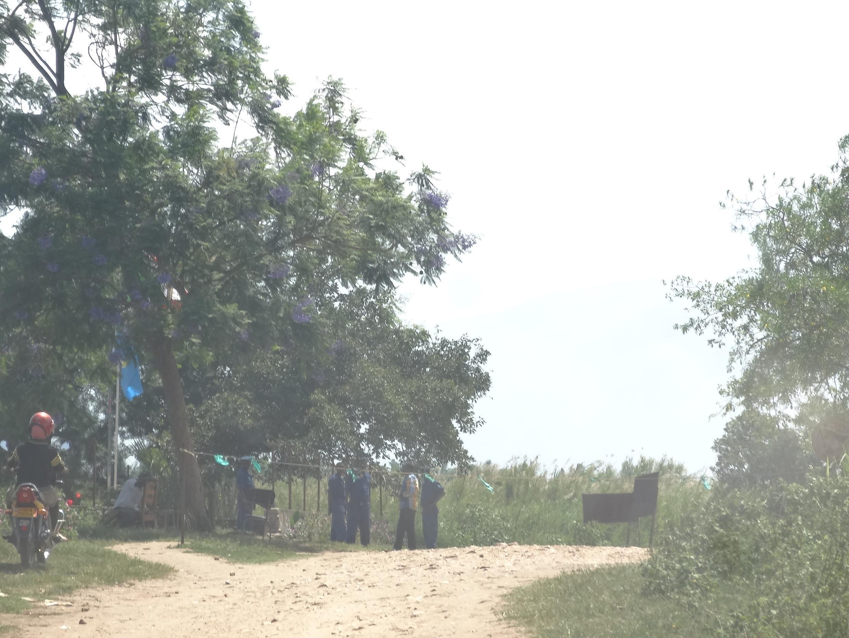 Vugizo, dernier poste-frontière burundais avant d'entrer en RDC.