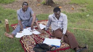 Des étudiants au travail, Niamey (photo d'illustration).