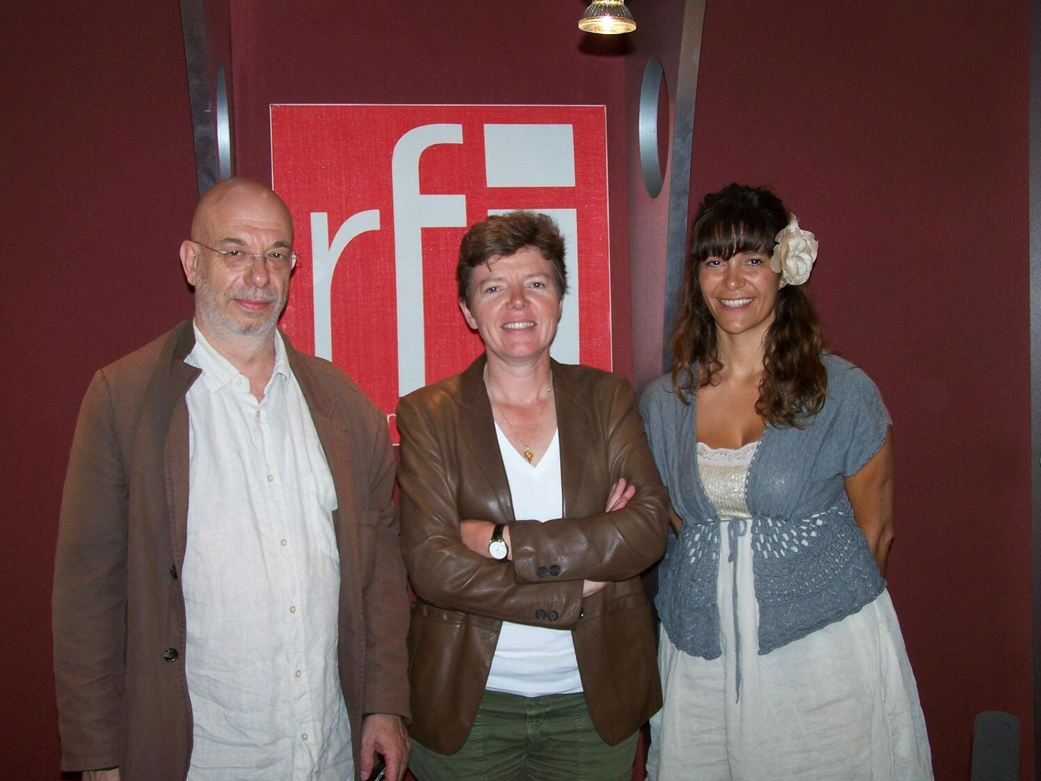 Philippe Chambon, Carole Chatelain et Emilie Martin
