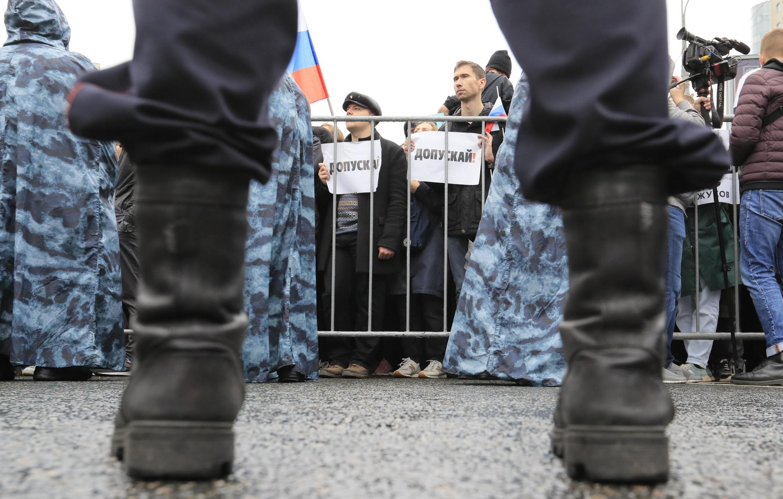 Митинг за свободные выборы в Москве, 10 августа 2019