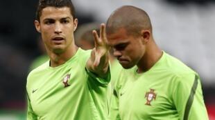 Cristiano Ronaldo e Pepe, duas das armas portuguesas