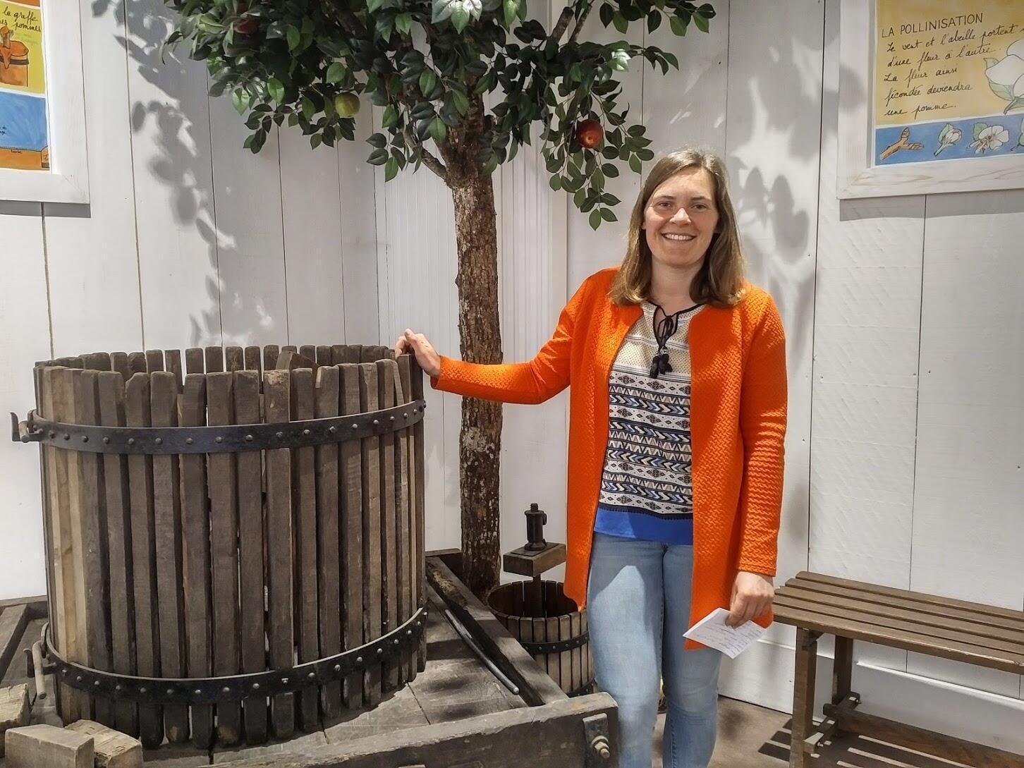 Jeanne es una de las chicas más felices del mundo pues puede dedicarse a su pasión, la vida agrícola.
