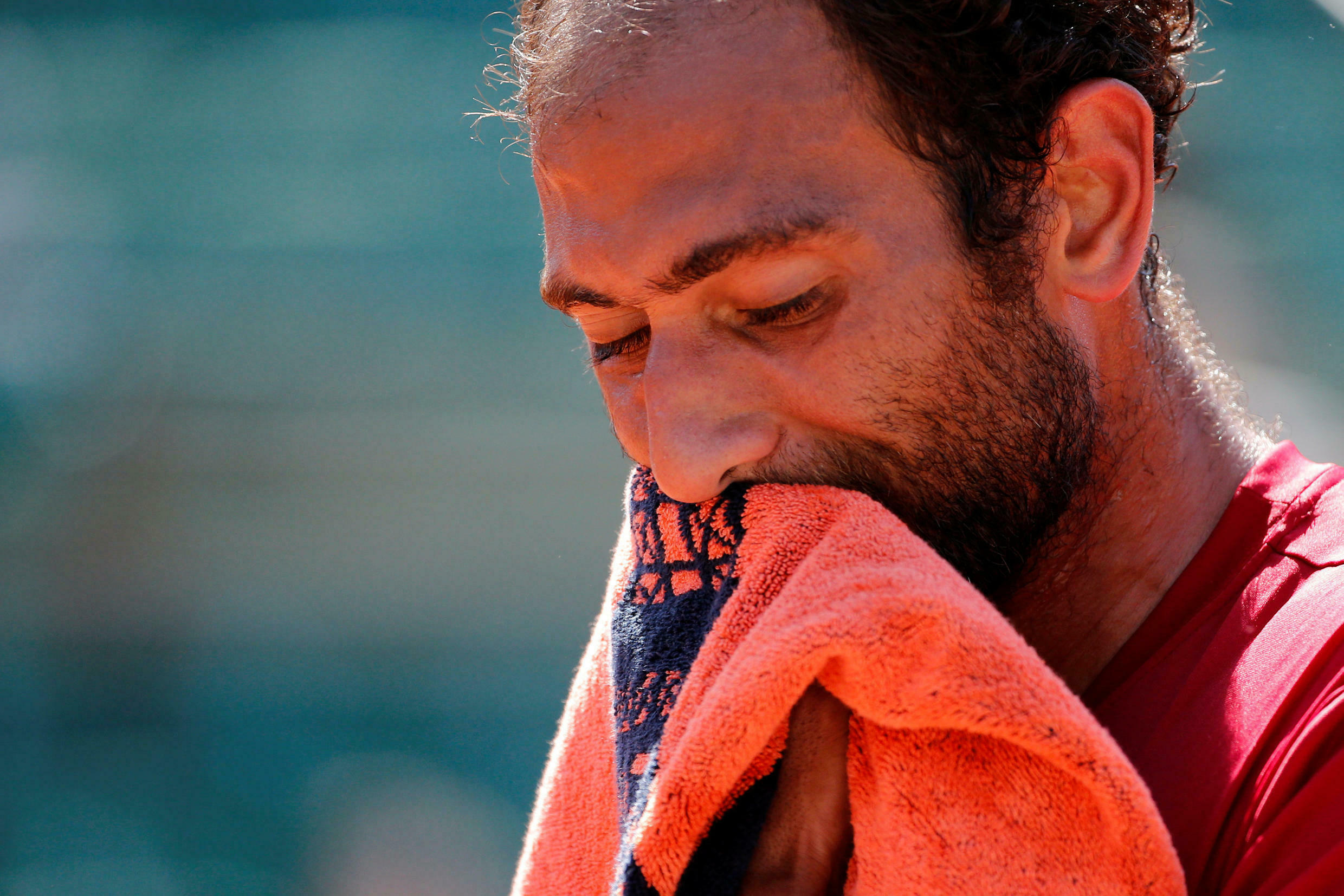 Mohamed Safwat had never played in the main draw of a Grand Slam tournament.