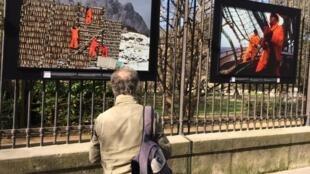 L'exposition «ÊtreS au travail», sur les grilles du jardin du Luxembourg à Paris, jusqu'au 4 juillet.