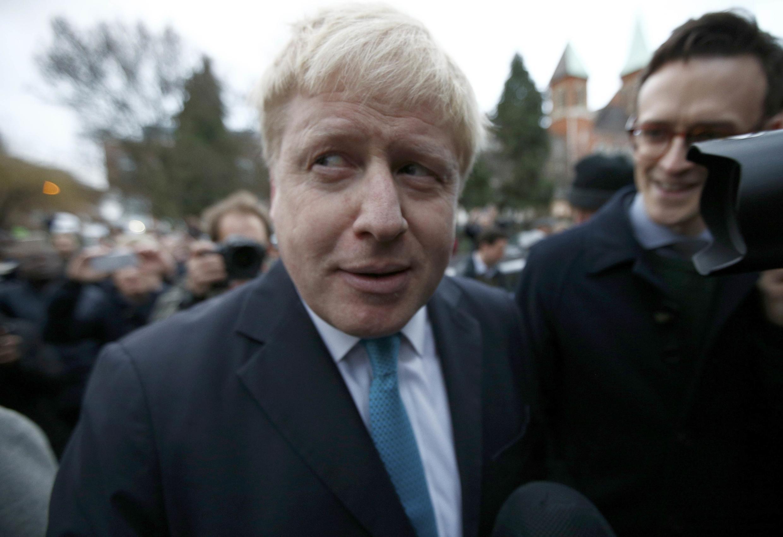 Мэр Лондона Борис Джонсон, 21 февраля 2016 г.