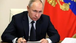 俄羅斯總統普京資料圖片