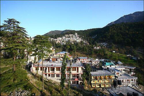 西藏流亡政府所在的印度達蘭薩拉