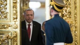 """O presidente turco, Recep Tayyip Erdogan, apelou às """"instituições internacionais"""" para que """"imponham sanções à Holanda"""" depois que o país proibiu campanha em favor do reforço dos poderes presidenciais."""