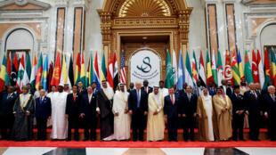 Tổng thống Mỹ tham dự thượng đỉnh các nước Ả Rập tại Ryad, Ả Rập Xê Út, 21/05/2017.