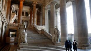 Le palais de justice de Bruxelles où s'ouvre ce lundi 5 février 2018 le premier procès de Salah Abdeslam. Il comparaît pour la fusillade qui a précédé son arrestation en mars 2016 dans une planque bruxelloise après quatre mois de cavale.