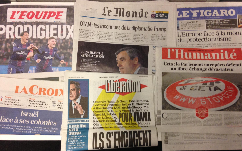 Les candidats à la présidentielle 2017 en France se sont exprimés sur les médias.