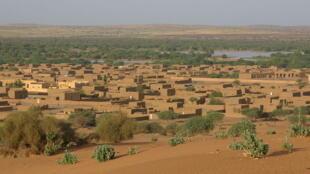 La ville de Ménaka, dans le nord du Mali.