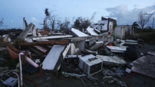 Разрушения в Таклобане, Филиппины, 9 ноября 2013 года