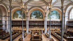 法國巴黎黎塞留圖書館
