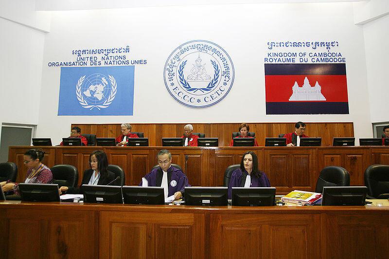 Tòa án quốc tế xử các lãnh đạo Khmer Đỏ, Phnom Penh.