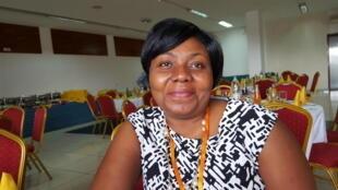 Essomandan Gnassingbè, présidente du comité d'organisation de la Foire artisanale et culturelle du Togo.