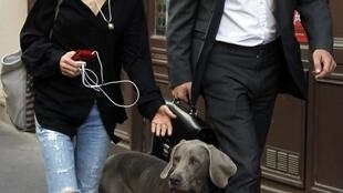 Tristane Banon and her lawyer David Koubbi
