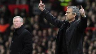 Jose Mourinho na Real Madrid da Sir Alex Ferguson na Manchester United