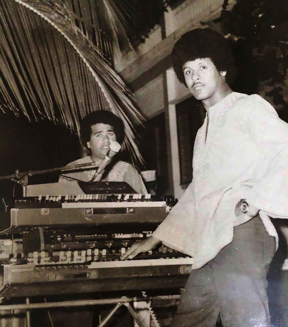 """Mahmud """"Jerry"""" Hussen & Axmed Naaji,  Mogadishu (1970s)"""