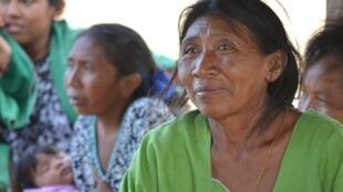 Les femmes de la communauté Wayúu travaillent dans l'artisanat.