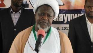 Shugaban kungiyar mabiya mazhabar Shi'ah a Najeriya, Ibrahim El-Zakzaky.