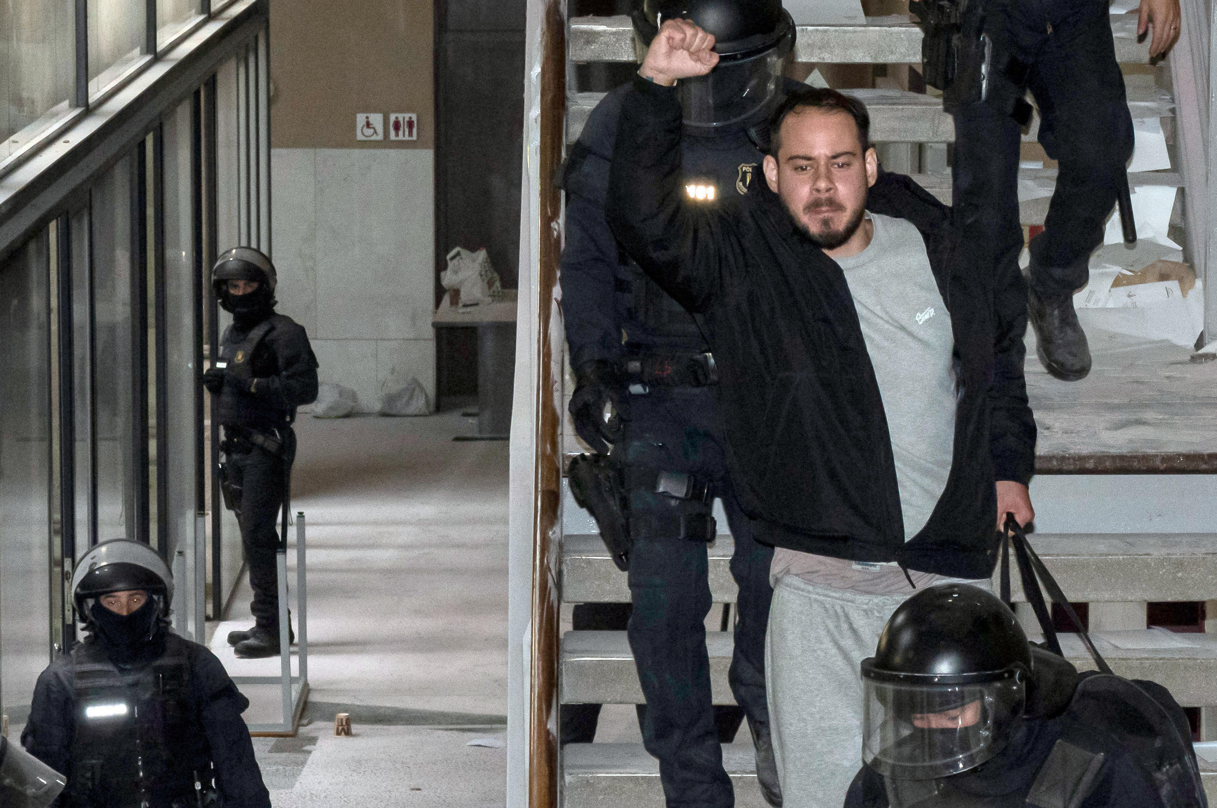 Hasel had been given until last Friday night to turn himself in to begin serving his sentence