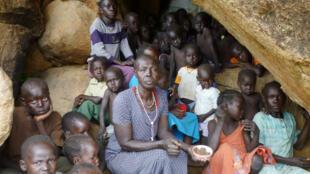 Raia wanaokimbia Mapigano wamekuwa wakikosa huduma Muhimu za kibinaadam ikiwemo Chakula