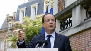 Франсуа Олланд открывает новые дебаты об эвтаназии, 17 июля 2012 год
