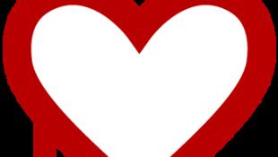 O símbolo do bug, um coração que sangra