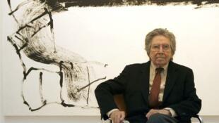El pintor catalán Antoni Tapies
