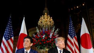 Firaministan Japan Shinzo Abe da Shugaban Amurka Donald Trump