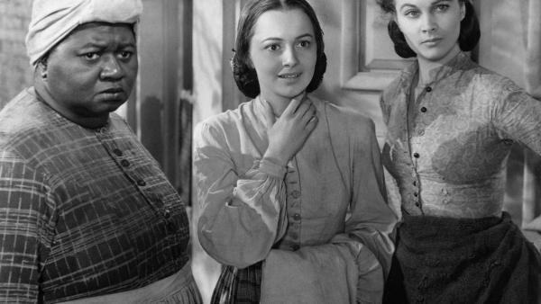 Vivien Leigh, Olivia de Havilland (C) et Hattie McDaniel dans une scène du film «Autant en emporte le vent», en 1939.
