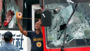 在菲律賓遭劫持的香港大巴士