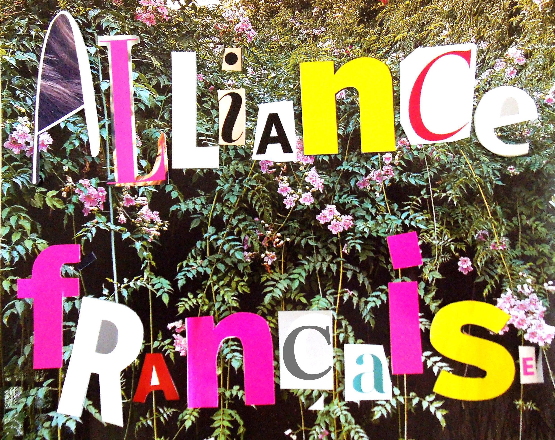 Dessin réalisé à partir de «Ecouter Paris à l'Alliance Française».
