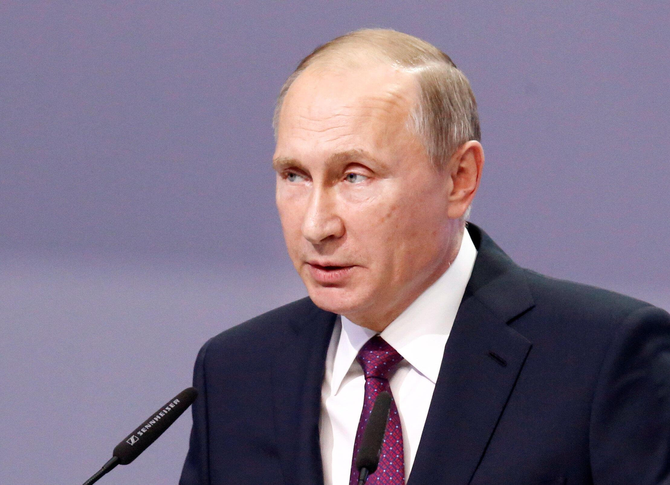 Tổng thống Nga Vladimir Putin.