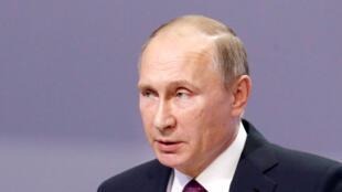 លោកប្រធានាធិបតីរុស្ស៊ី Vladimir Poutine