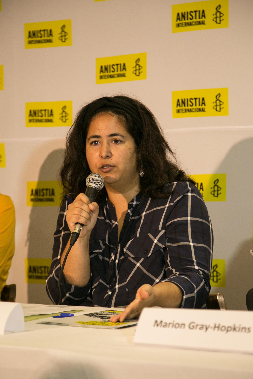Renata Neder, assessora em Direitos Humanos da Anistia Internacional no Brasil