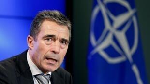 Katibu Mkuu wa NATO Andres Fogh Rasmussen ambaye ametaka suluhu ya kisiasa ipatikane nchini Syria