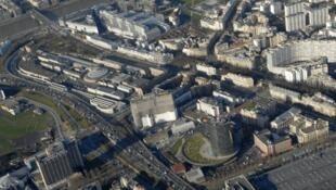 Le site de Balard à Paris, où sera édifié le futur siège du ministère de la Défense.