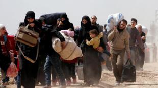 Nội chiến tại Syria trong 7 năm qua đã làm hàng triệu người dân phải sơ tán và di tản.