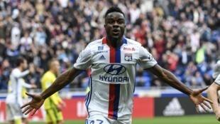 L'Ivoirien Maxwel Cornet a inscrit un doublé en 10 minutes pour l'OL contre Nantes. Il est le grand artisan de la victoire des Gones (3-2).