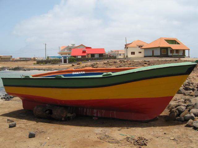 Barco de pesca, Ilha de São Vicente, Cabo Verde