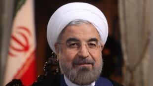 Le président iranien Hassan Rohani, le 18 septembre à Téhéran.
