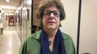 A coordenadora do Observatório da Intervenção Federal criado pelo Cesec, Silvia Ramos, na sede do Instituto Pereira Passos, no Rio de Janeiro.