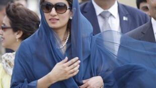Ngoại trưởng Pakistan Hina Rabbani Khar tại New Delhi (Reuters)