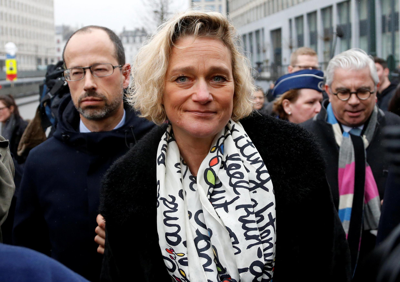 Delphine Boël, ici en février 2017, a assigné le roi Albert II en justice pour lui faire reconnaître sa paternité.