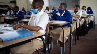 Salle de classe au Rwanda. (Image d'illustration)