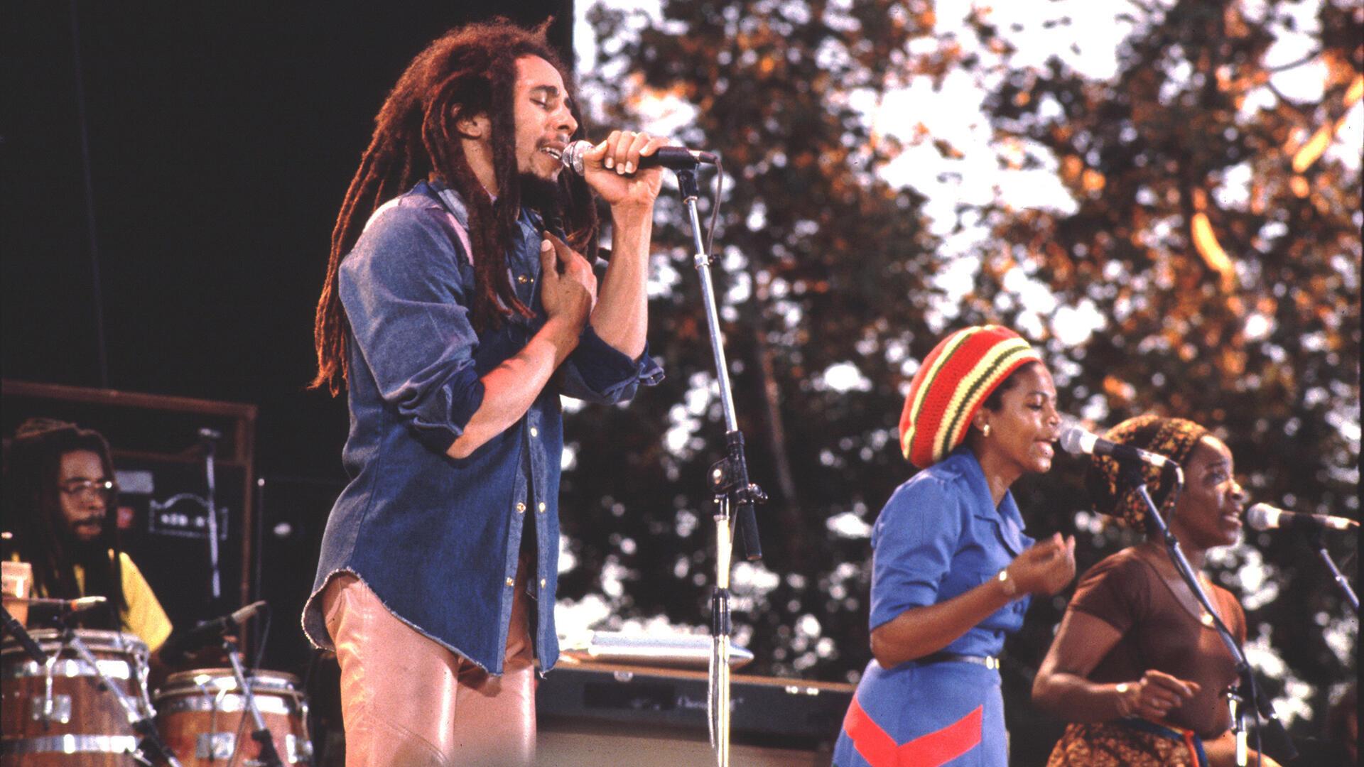 Bob Marley, 1979, à Santa Barbara (Californie), États-Unis.